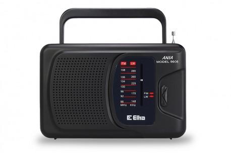 Odbiornik radiowy ANIA 3 model 9608 czarny