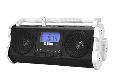 MAJA Radio z cyfrowym strojeniem MP3 USB SD dyktafon model 138USB czarny