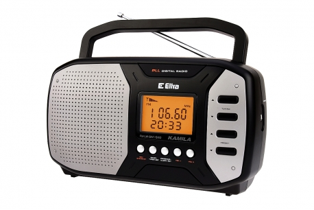 KAMILA Odbiornik radiowy z cyfrowym strojeniem model 450 czarny