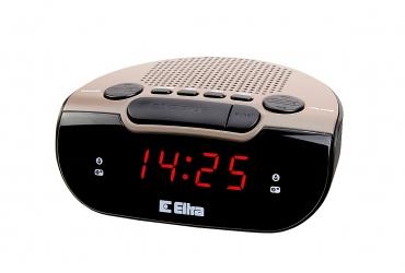 ZEBU Radiobudzik z cyfrowym strojeniem model 06PLL czarny