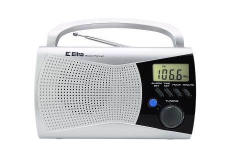 KINGA 2 Odbiornik radiowy model 300 srebrny