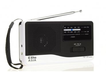 ASIA Odbiornik radiowy model 810 czarno-biały