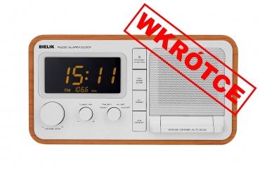BIELIK Odbiornik radiowy w drewnianej obudowie z cyfrowym strojeniem