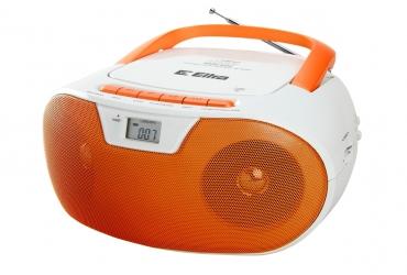 MASZA Radioodtwarzacz CD MP3 USB SD model CD92USB biało-pomarańczowy