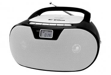 MASZA Radioodtwarzacz CD MP3 USB SD model CD92USB czarno-biały
