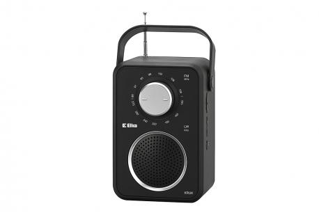 KRUK Odbiornik radiowy model 280 czarny