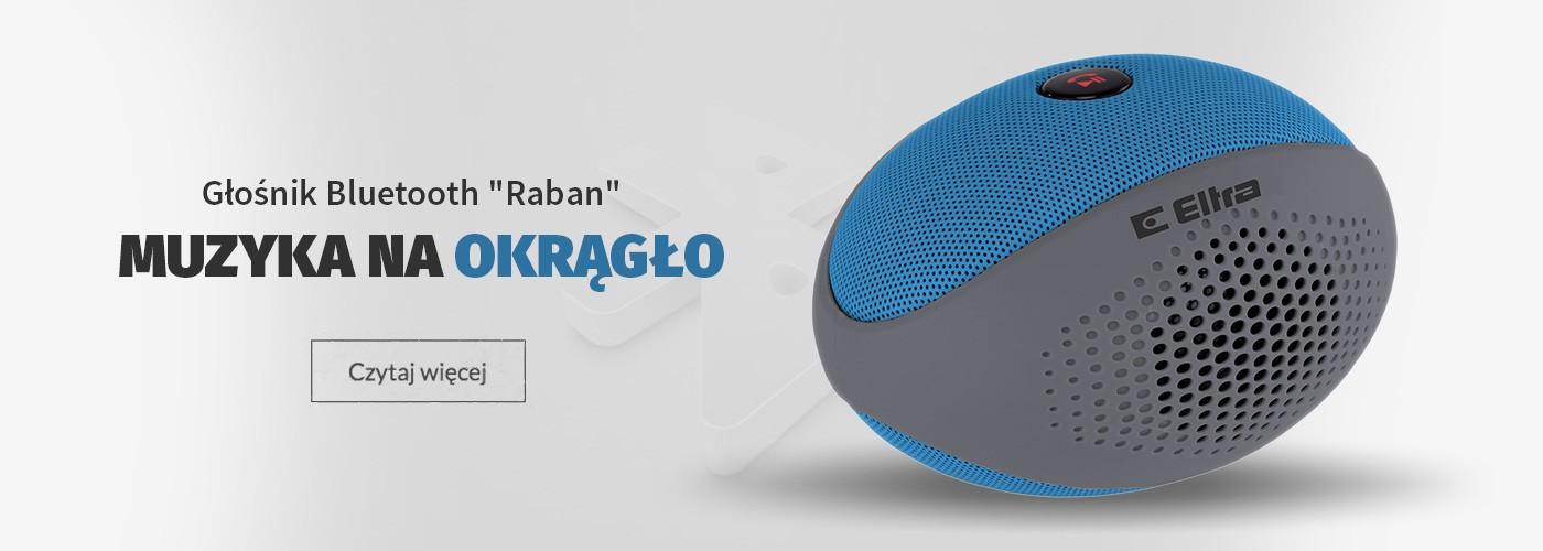 RABAN Głośnik bluetooth MP3 microSD