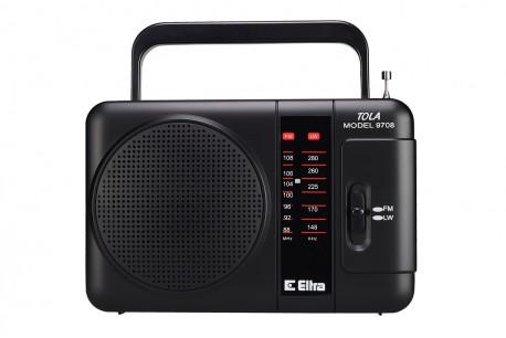 TOLA Odbiornik Radiowy model 9708 czarny