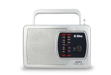 MARIA Odbiornik radiowy model 2023 srebrny