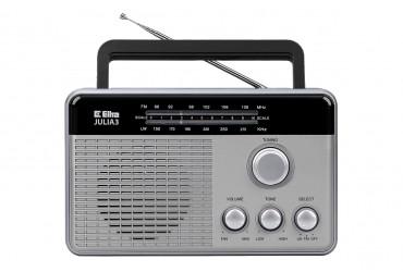 JULIA 3 Odbiornik radiowy model 820 srebrny