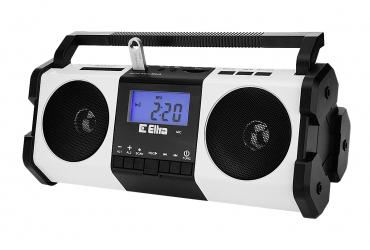 MAJA Radio z cyfrowym strojeniem MP3 USB SD dyktafon model 138USB biały