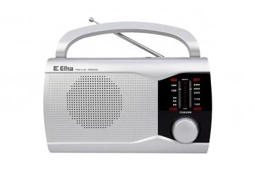 EWA Odbiornik radiowy model 201 srebrny
