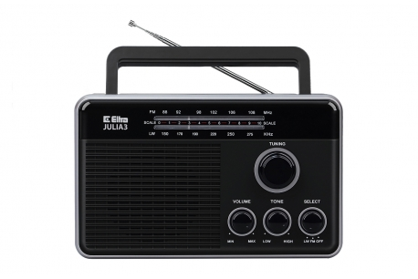 JULIA 3 Odbiornik radiowy model 820 czarny