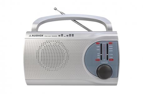BASIA Odbiornik radiowy model 205 srebrny