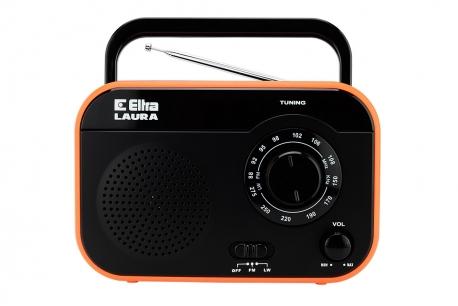 LAURA Odbiornik radiowy model 410 czarny