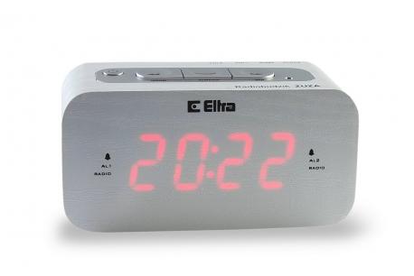 ZUZA Radiobudzik z cyfrowym strojeniem model 668PLL drewno brzoza