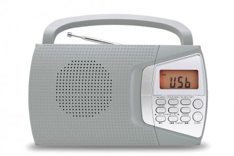 DOMINIKA 2 Radio z cyfrowym strojeniem MP3 USB model 600U szara