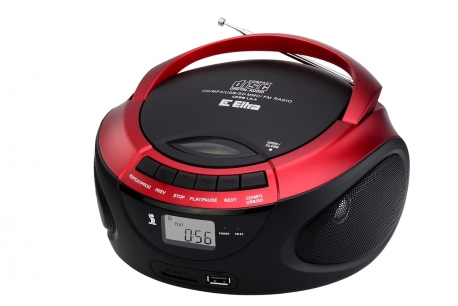 LILA Radioodtwarzacz CD MP3 USB SD model CD98USB czarny