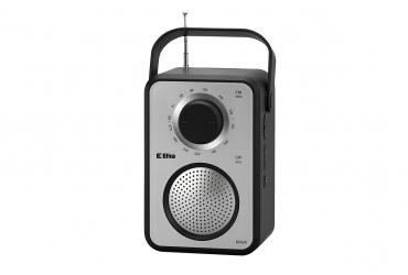 KRUK Odbiornik radiowy model 280 srebrno-czarny