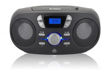 INGA Radioodtwarzacz CD MP3 USB FM PLL model CD 70 USB czarny