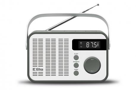OLIWIA Radio z cyfrowym strojeniem model 261 biały-szary