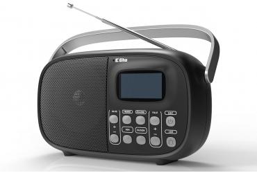 NADIA Odbiornik radiowy z cyfrowym strojeniem model 660 srebrny