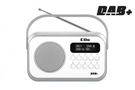 NATALIA Radio z cyfrowym strojeniem DAB+ model 262 DAB kolor czarny