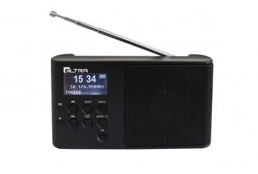 ULA cyfrowy odbiornik radiowy DAB+ FM RDS model 101DAB czarny