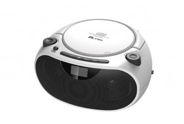 MASZA 2 Radioodtwarzacz CD MP3 USB SD model CD53USB srebrny