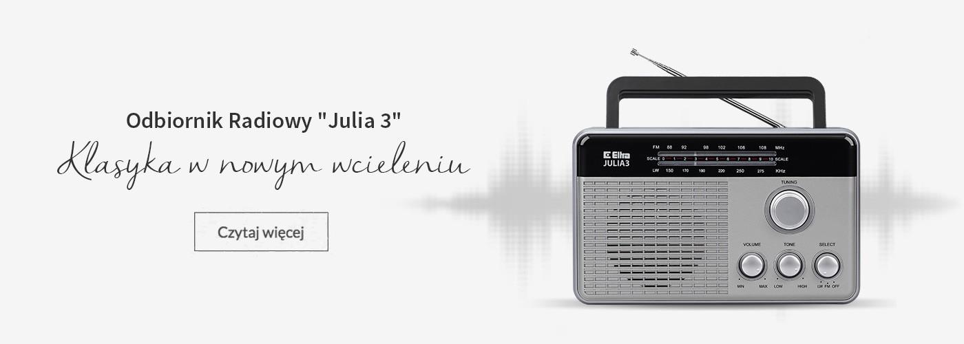 Odbiornik Radiowy Julia 3
